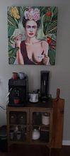 Photo de nos clients: Frida con amigos sur Nettsch ., sur toile