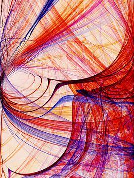 Composition abstraite 413 van Angel Estevez