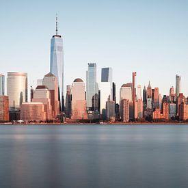 Manhattan panorama van Arnold van Wijk