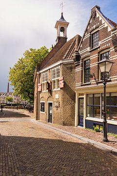 Die Zakkendragershuisje in Rotterdam Delfshaven sur Charlene van Koesveld