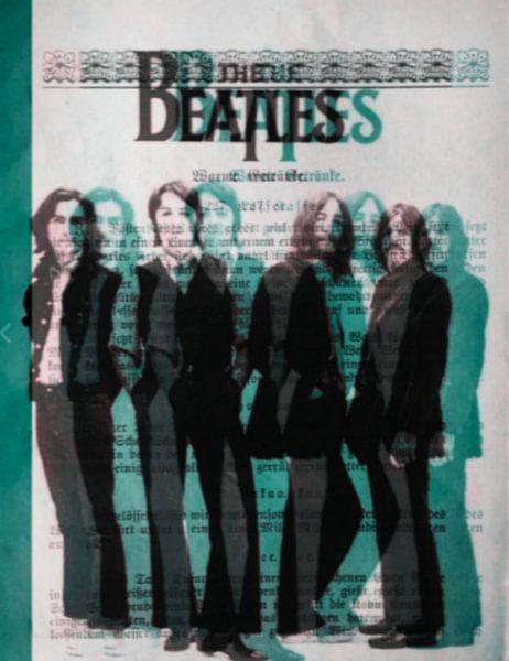 THE Beatles 3 D - I PAD Generation van Felix von Altersheim