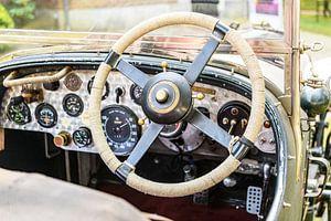 Bentley 4 Liter Compressor klassiek klassiek Brits autodashboard