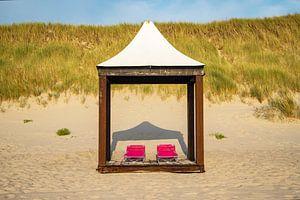 Strandpavillon von