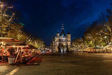 Plein De Brink in Hanzestad Deventer met museum De Waag van VOSbeeld fotografie