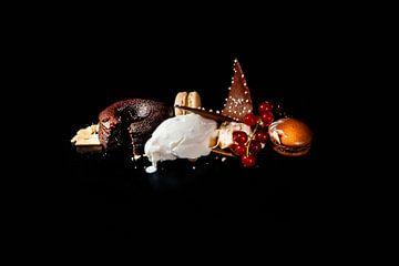 Désert au chocolat sur Rob van Soest