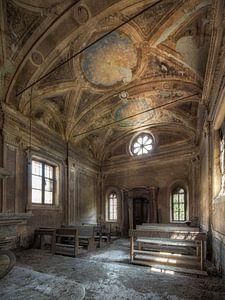 Rotten kerk - verlaten plaats