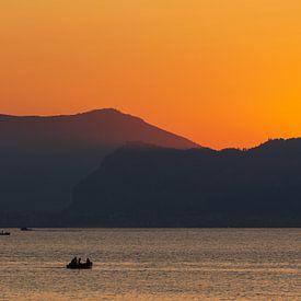 Fischer bei Sonnenuntergang von Fabrizio Micciche