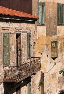 Grieks pastel in Koumeika van Harry Kors