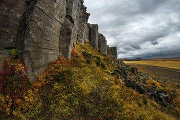 Basalt kolommen van Gerduberg van Gerry van Roosmalen