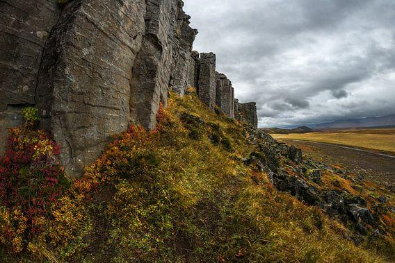 Basalt kolommen van Gerduberg