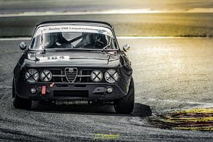 Alfa Romeo GTAm tijdens Youngtimerfestival Spa 2017 van