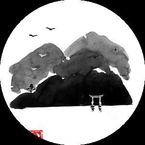 poort van de berg van Péchane Sumie