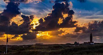 Vuurtoren Eierland Zonsondergang Texel sur Texel360Fotografie Richard Heerschap