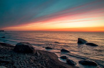 Fehmarn zonsopgang van Roland Hoffmann
