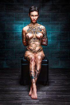 Tattoo Clamps Tied Up von Rod Meier