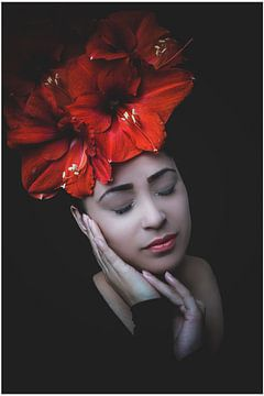 Luxus Kunst einer Frau von Manon Moller Fotografie