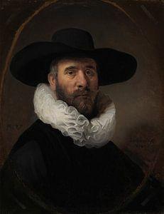 Portrait de Dirck Jansz. Pesser, Rembrandt Harmensz. van Rijn