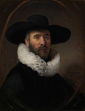 Porträt von Dirck Jansz. Pesser, Rembrandt Harmensz. van Rijn