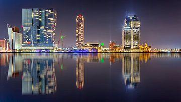 Kop van Zuid Rotterdam sur Michael van der Burg