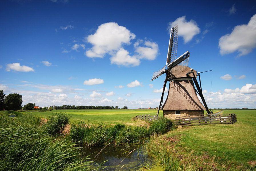 Molen in Heidenskip (Friesland)