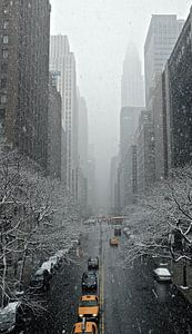 'Yellow cabs', New York