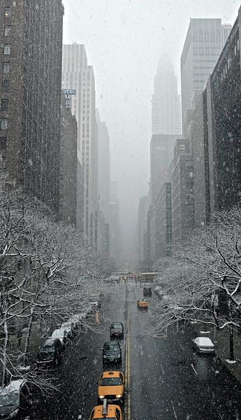 'Yellow cabs', New York  sur Martine Joanne