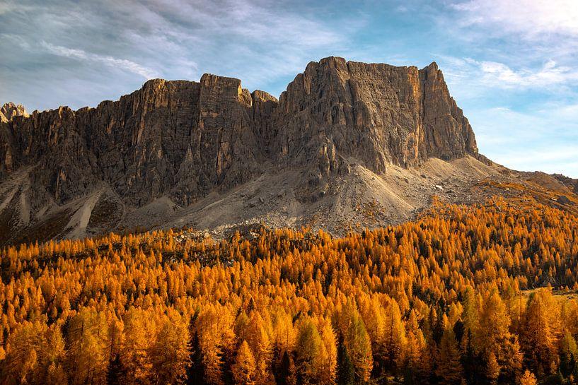 Lastoi de Formin - Veneto - Italië van Felina Photography