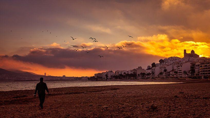 Sunset van Jellie van Althuis