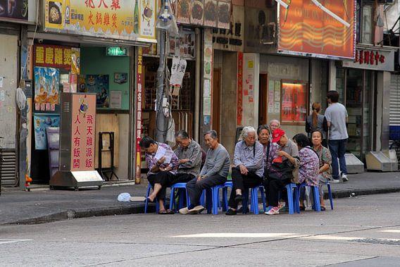 Straatfotografie Hongkong