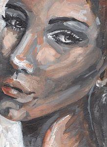 Porträt einer sinnlichen Frau von Pam du Pau