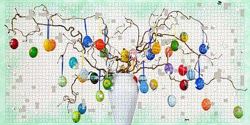 Easter tree van Leopold Brix