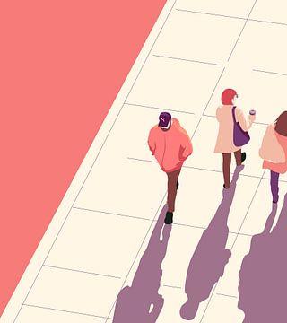 Pedestrians van Fela de Wit