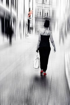 street lady von Claudia Moeckel
