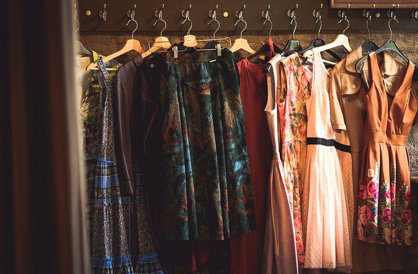 Vintage kledij van Peter Deschepper