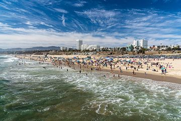 Mailbu Beach America von Inge van den Brande