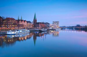 Sunset in Bremen