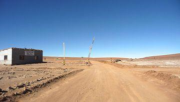 'Op de grens met Chili en Bolivia, Bolivia  von Martine Joanne