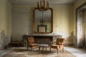 Alte Sitzecke im Hotel von Perry Wiertz