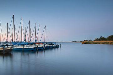 Boote am Leekstermeer von Lucas Planting