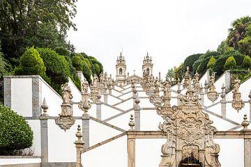 Heiligtum Bom Jesus do Monte - Braga von Rick van der Poorten