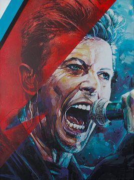 David Bowie malerei von
