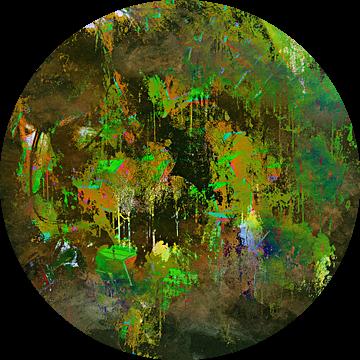 Green distortion van PictureWork - Digital artist