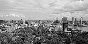 Die Skyline der Stadt Rotterdam von MS Fotografie | Marc van der Stelt