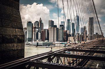 Vue depuis le pont de Brooklyn sur Joris Pannemans - Loris Photography