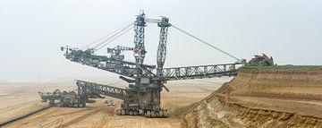 Mine de lignite en Allemagne sur Peter Hermus