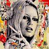 Brigitte Bardot is roken van Michiel Folkers thumbnail