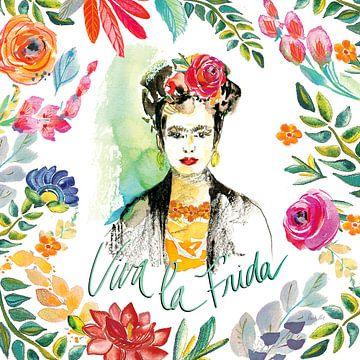 Fridas Blume Fancy I, Kristy Rice von Wild Apple
