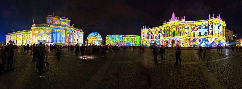 Bebelplatz Berlijn - Panorama van Frank Herrmann