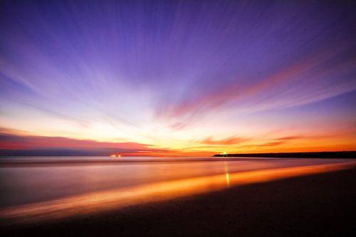 Sunset Sonata van Cho Tang