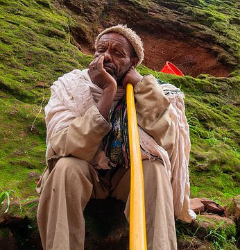 Ethiopië: Biete Medhane Alem (Lalibela) van Maarten Verhees